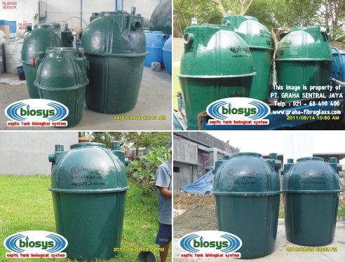 Septictank Biotech System Biosys Tipe BS-Series
