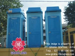 Toilet Portable Fibreglass tipe b